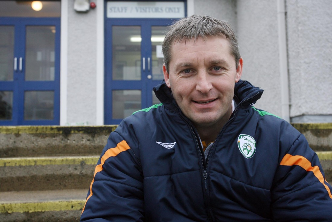 Joe Boyle pictured at Errigal College, Letterkenny this week.
