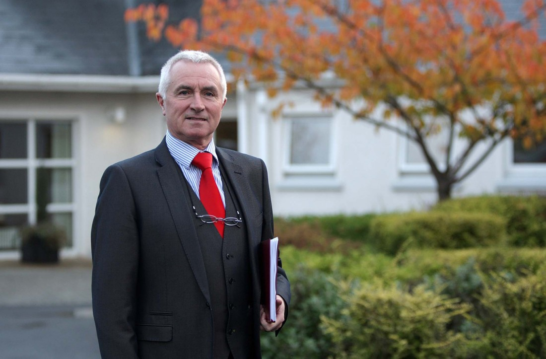 Dr. James McDaid, chairman of the Donegal Hospice.