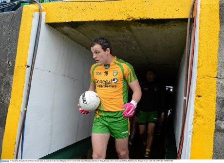 Michael Murphy is ready to lead Donegal into 2014.