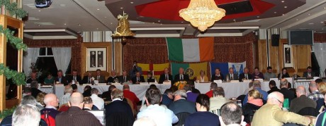 A general view of the 2012 Donegal GAA convention. No media will be present at this weekend's convention.