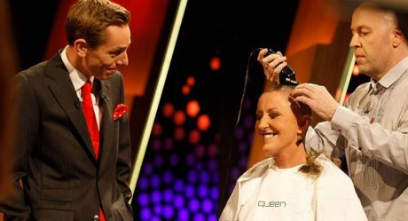 Brave Majella O'Donnell when recently got hair hair shaved off on the Late Late Show raising much-awareness and funds.