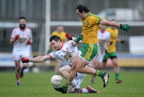 Michael Murphy in action against Tyrone.