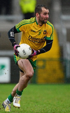 Karl Lacey was back for Donegal against Armagh