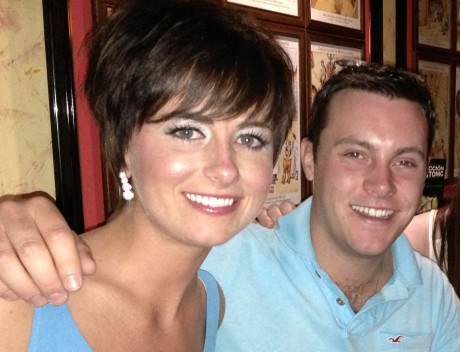 Lisa McHugh and Nathan Carter.