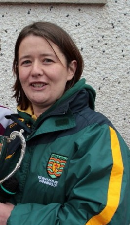 New Donegal senior ladies team manager, Maggie Foy.
