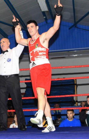 Michael Gallagher, Finn Valley Boxing Club.