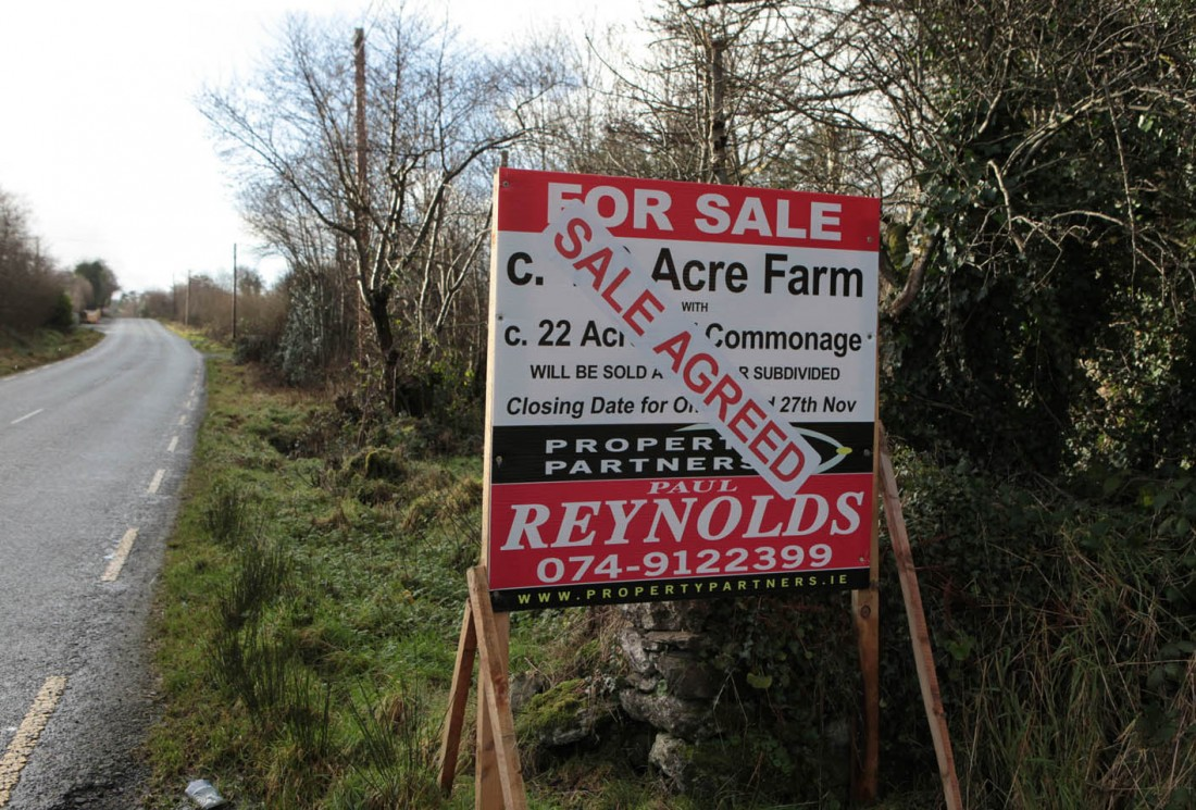 Sale agreed on this farm near Glenswilly.