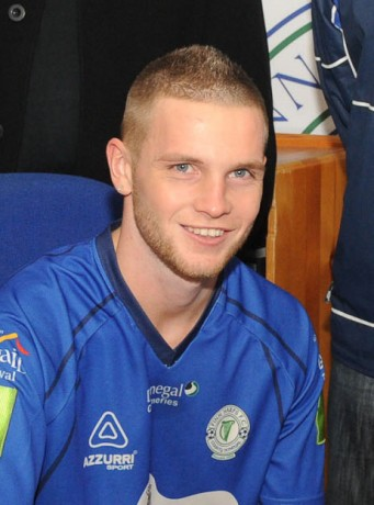 Blaine Curtis who has signed for Fanad United.