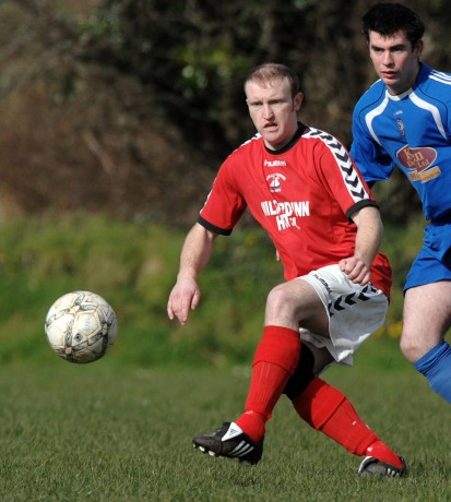 Swilly Rovers' Marty McDaid.