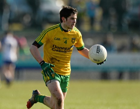 Ryan McHugh on the attack last Sunday against Monaghan