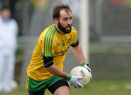 Karl Lacey will return to the Donegal line-up this Sunday in Newry.