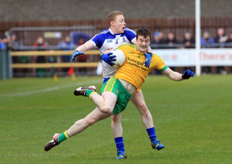 Leo McLoone has gone into the Donegal defence this year.