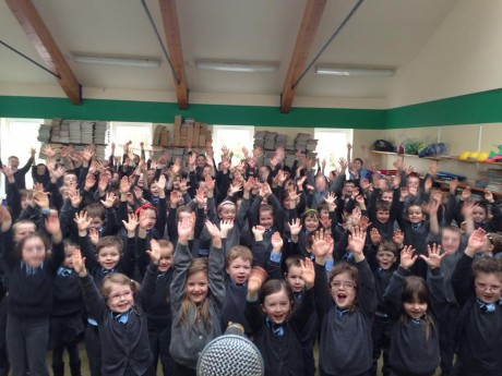 The young students of Killymard NS.