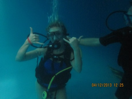 The Fighter Diving