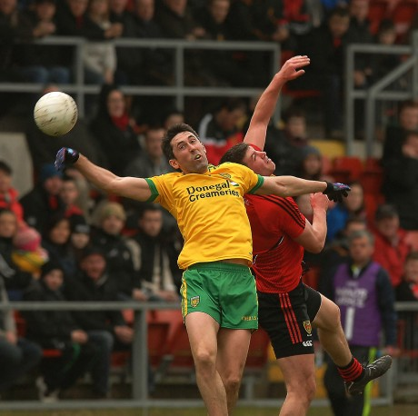 Rory Kavanagh in aerial combat in Newry