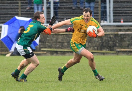 Michael Murphy whose last kick of the game gave Donegal a draw against Meath in MacCumhaill Park.