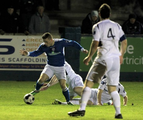 Sean McCarron has made his return to the Finn Harps squad