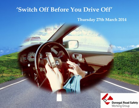 switch off before you drive off