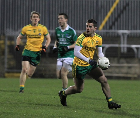 Patrick McBrearty of Donegal against Fermanagh.