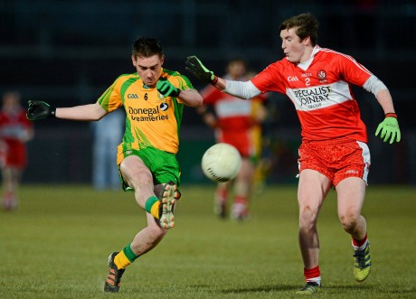 Martin O'Reilly in action during last year's Under-21 campaign.