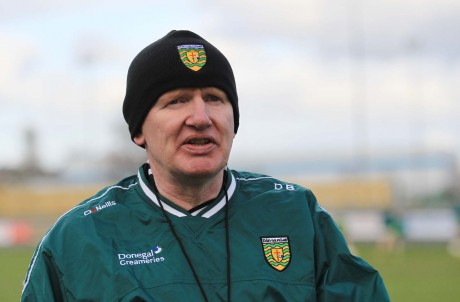 Donegal Minor manager Declan Bonner.