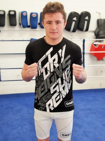 James is sponsored by one2fightwear.