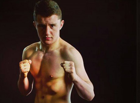 James Gallagher (17) who is making his adult amateur MMA debut this weekend.