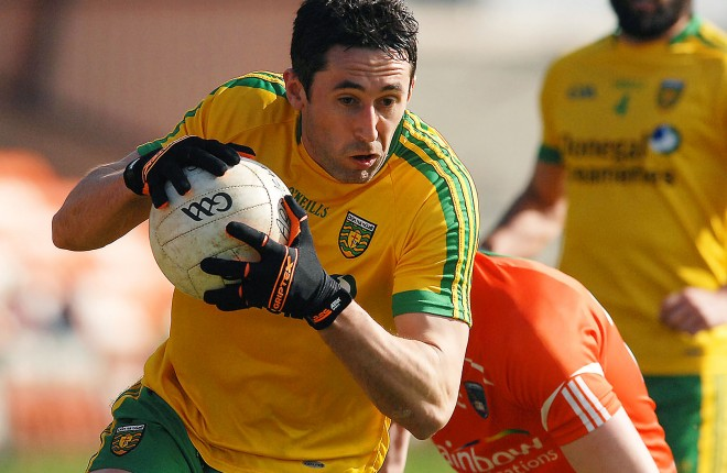 Donegal midfielder Rory Kavanagh