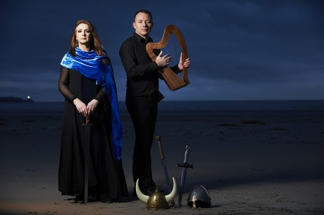 Moya Brennan and Cormac de Barra.