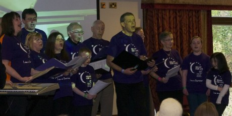 The Relay For Life Choir.