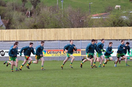 The Donegal minors are put through their paces