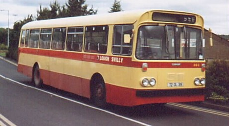 The classic image of a Swilly bus, so well known to generations.