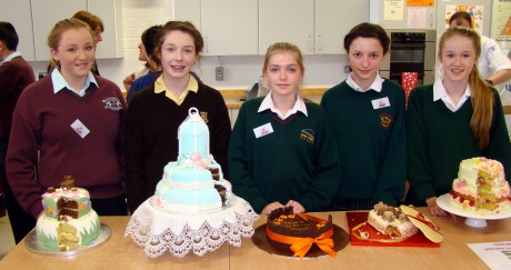 Finalists at the Bake Off.