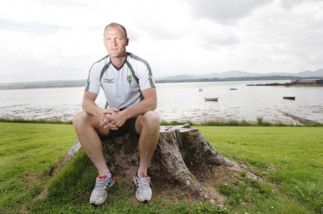 Donegal forward Colm McFadden relaxes at Ards near his home village of Cresslough. Photo: Donna El Assaad
