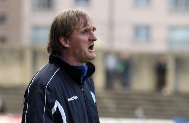 Finn Harps manager Ollie Horgan. Photo: Donna El Assaad