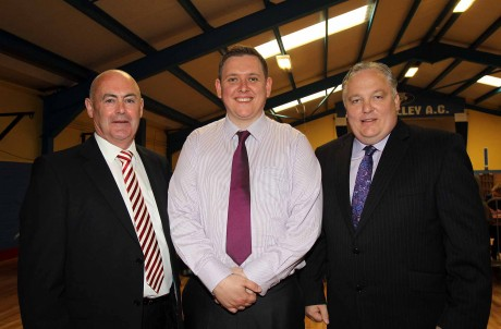 The first three to be elected in the Stranorlar Electoral Area: Cllr Patrick McGowan, Cllr Gary Doherty and Cllr Frank McBrearty,
