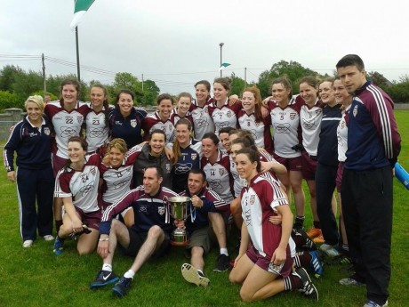 Termon celebrate their win