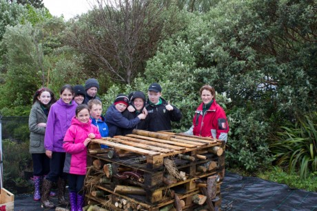 Murroe National School students enjoying their day at Cluain na dTor.