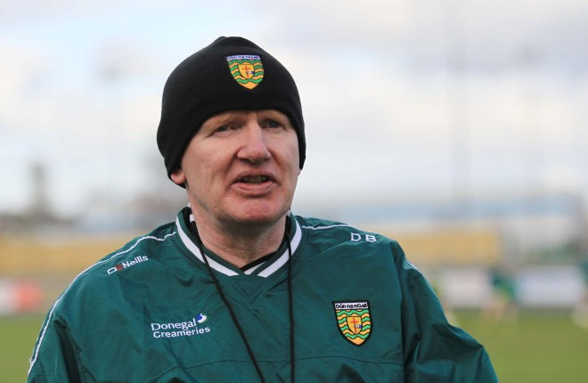 Donegal U21 manager Declan Bonner.