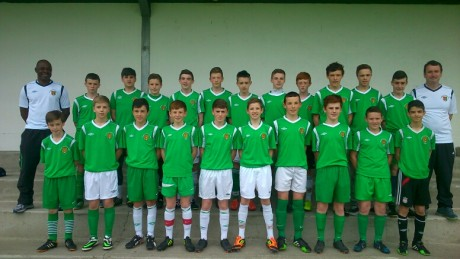 Donegal Schoolboys Kennedy Cup squad.