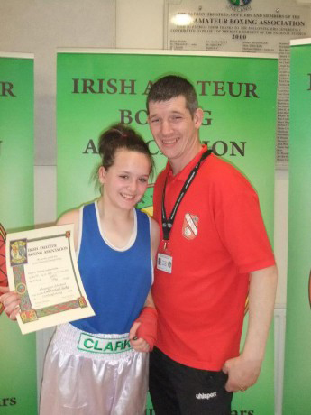 Labhaoise Clarke won her fifth Irish title in Dublin at the weekend.