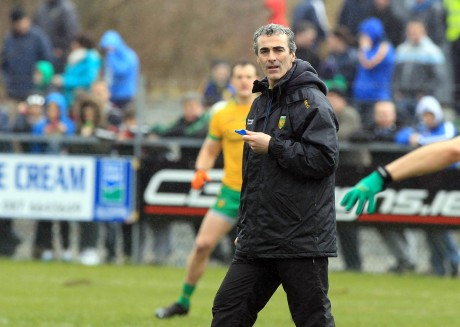 Donegal manager Jim McGuinness. Photo: Donna El Assaad