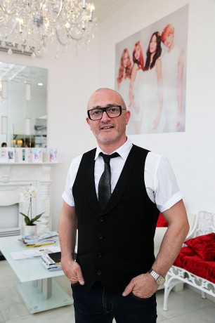 Patrick Gildea in his new salon. Picture: Declan Doherty