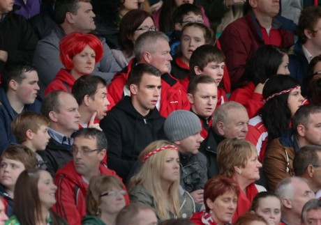 Seamus Coleman in attendance at the 2013 Donegal SFC final