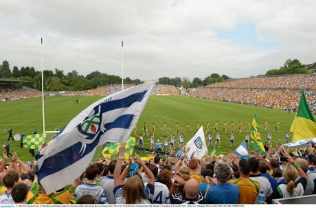 St Tiernach's Park at last year's Ulster SFC final.