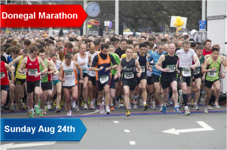 Entry deadline extended for first ever Donegal Marathon.