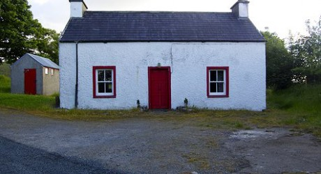 A cottage used in the making of An Crann.