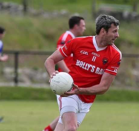 Christy Toye in action for St Michael's on Sunday.