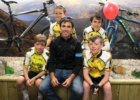 Philip Deignan on his visitrecent to Cope Cycles with the Errigal Youths