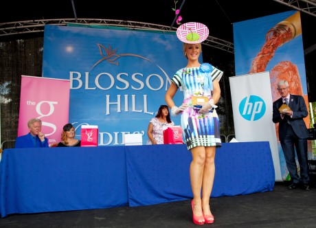 Aoibheann McMonagle.  Photo: copyright Paul Sherwood © 2014 Blossom Hill Ladies'  Day at the 2014 Discover Ireland Dublin Horse Show